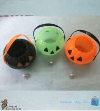 Giỏ kẹo Bí ngô nhựa Halloween