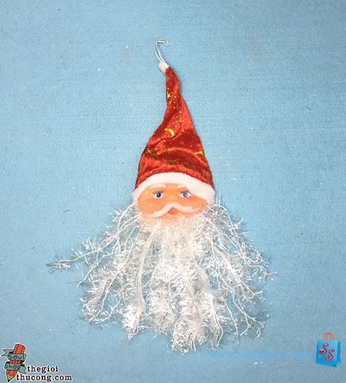 Mặt Ông già Noel râu dài (kiểu 1)